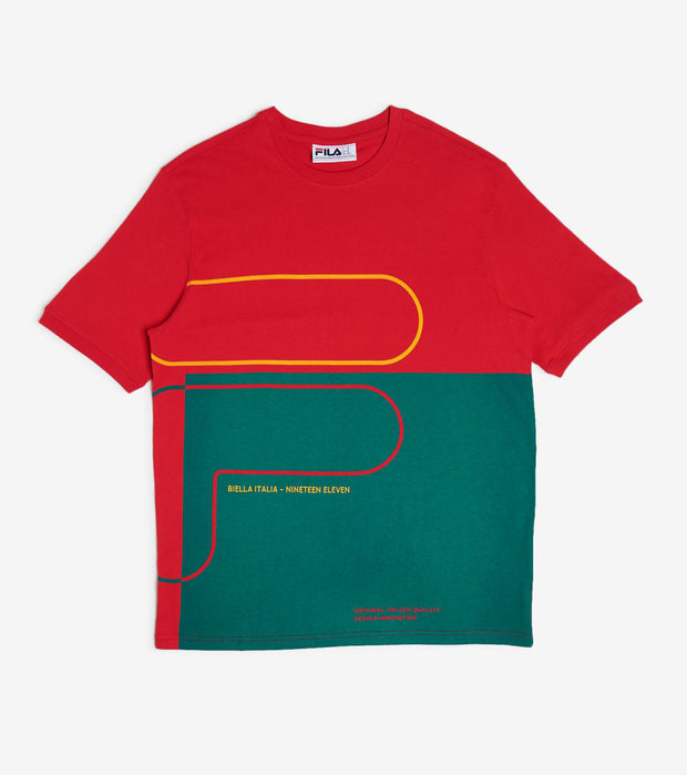 Fila  Salza Tee  Red - LM015896-640 | Jimmy Jazz