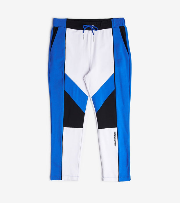 Karl Lagerfeld  Color Block Pants  Blue - LM0P5442-BLU | Jimmy Jazz
