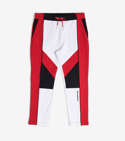 Karl Lagerfeld  Color Block Pant  Red - LM0P5442-RED | Jimmy Jazz