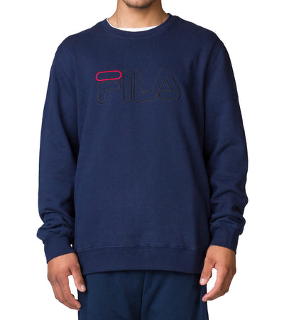 Fila  Halem Sweatshirt  Navy - LM173YU4-412 | Jimmy Jazz