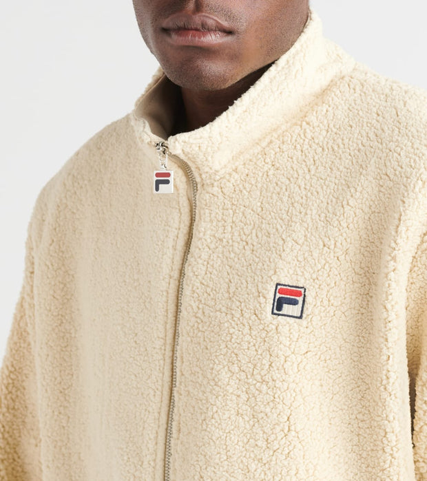 Fila  Finch Sherpa Jacket  White - LM1831AP-127 | Jimmy Jazz