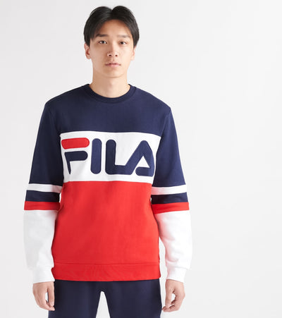 Fila  Reddie Long Sleeve Sweatshirt  Multi - LM1836AD-640 | Jimmy Jazz