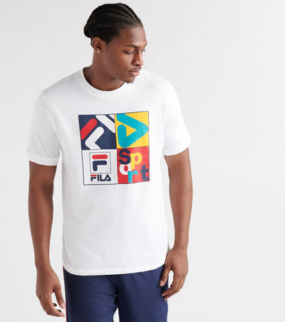 Fila  Jasper Tee  White - LM911257-100 | Jimmy Jazz