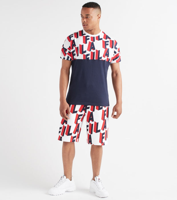 Fila  Haze Tee  Multi - LM911351-410 | Jimmy Jazz