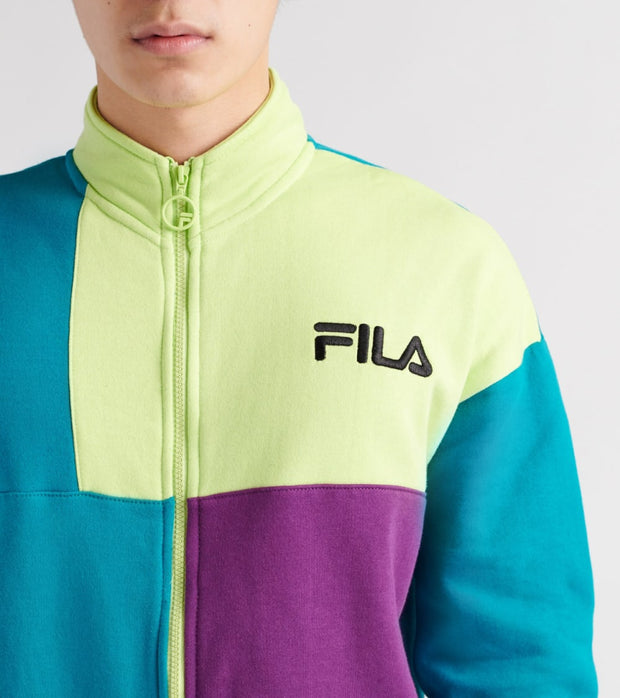 Fila  Roland Full Zip Sweatshirt  Multi - LM911366-366 | Jimmy Jazz