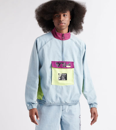 Fila  Doug Winter Zip Track Top  Blue - LM911422-470 | Jimmy Jazz