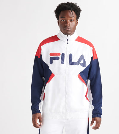Fila  Oliviero Wind Jacket  White - LM932994-100 | Jimmy Jazz