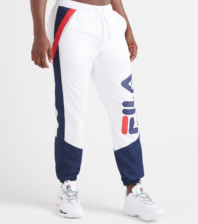 Fila  Gustavo Pants  White - LM933123-100 | Jimmy Jazz