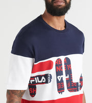 Fila  Johnson SS Tee  Multi - LM935178-410 | Jimmy Jazz
