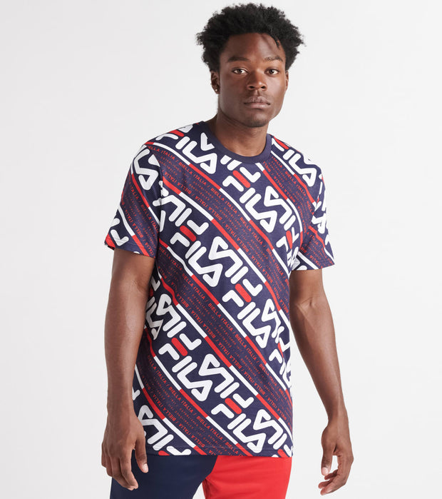 Fila  Calvin Short Sleeve Tee  Multi - LM935193-410 | Jimmy Jazz