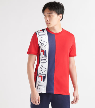 Fila  Dixon SS Tee  Red - LM935197-640 | Jimmy Jazz