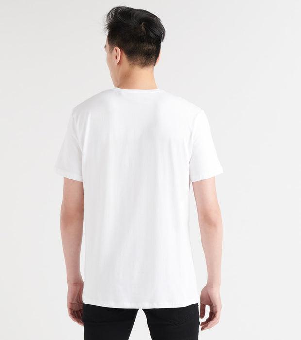 Karl Lagerfeld  Logo Cutout Overlay Tee  White - LM9K3640-WRD | Jimmy Jazz