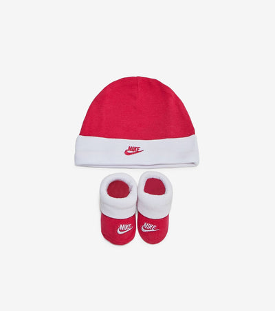 Nike  Futura Hat and Booties 2 Piece Set  Grey - LN0049-A4Y | Jimmy Jazz