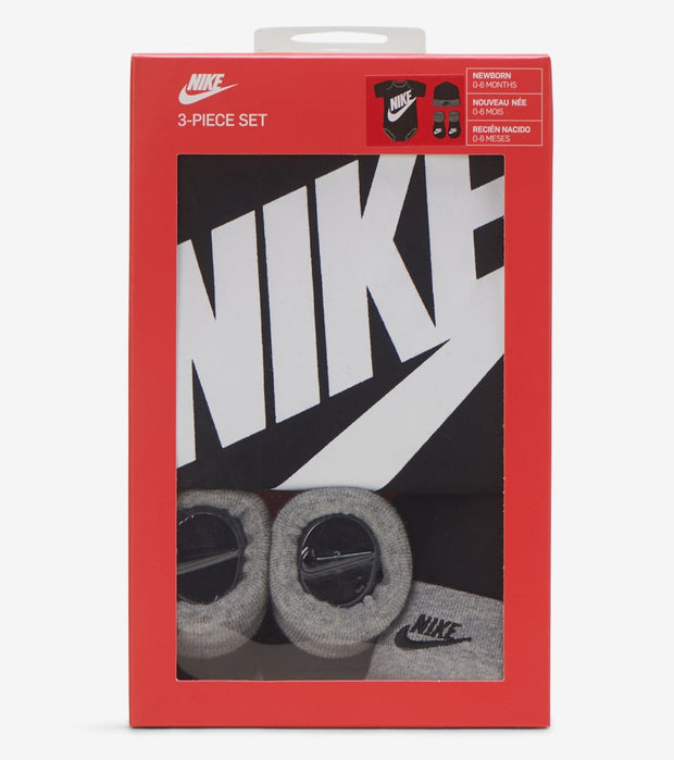 Nike  Futura Logo Set  Black - LN0073-023 | Jimmy Jazz