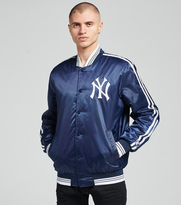 Starter  New York Yankees Satin Varsity Jacket  Navy - LS07E740NYY-NVY | Jimmy Jazz