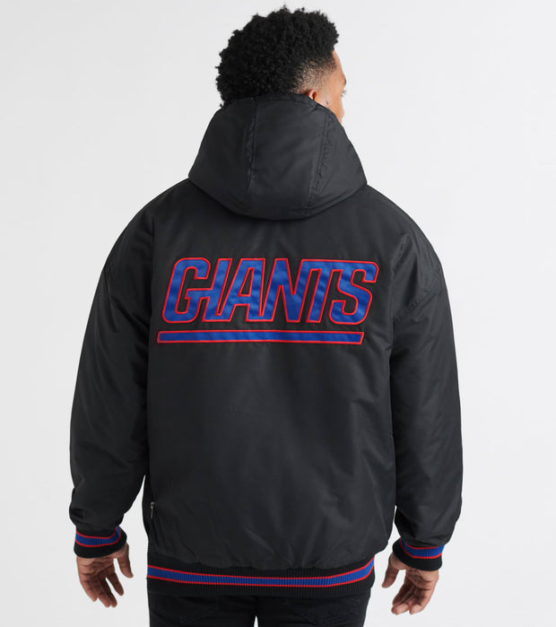 Starter  Giants Snap Front Jacket  Black - LS7LB501-GIA | Jimmy Jazz