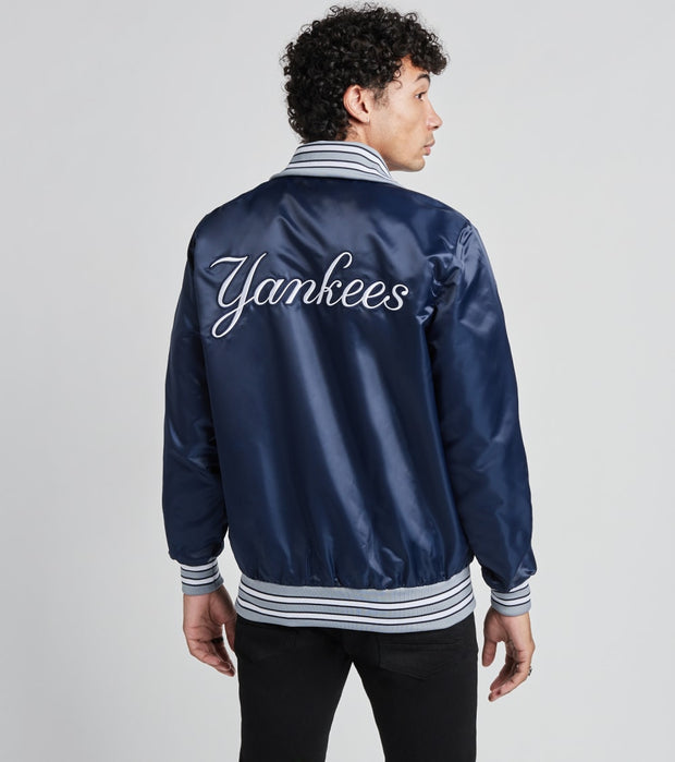 Starter  New York Yankees Varsity Jacket  Navy - LSZ50932NYY-NVY | Jimmy Jazz