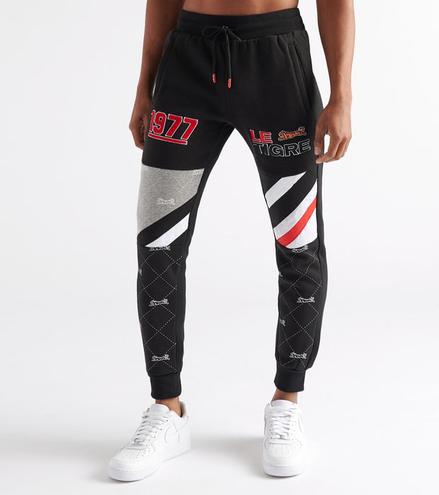 Le Tigre  Leighton Sweatpant  Black - LT341-GRY | Jimmy Jazz