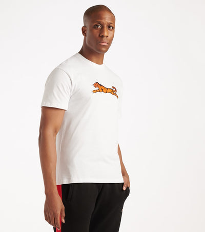 Le Tigre  Big Tiger Tee  White - LT550-WHT | Jimmy Jazz