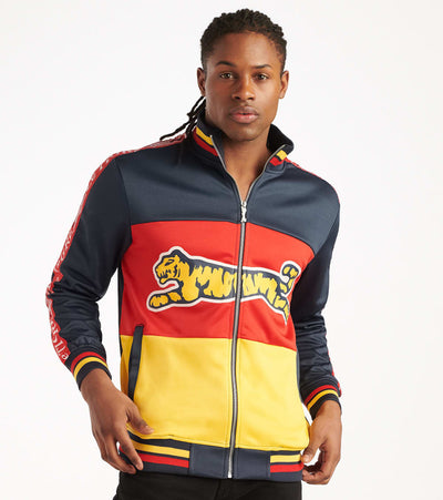 Le Tigre  Blocked Track Jacket  Multi - LT555-MLT | Jimmy Jazz