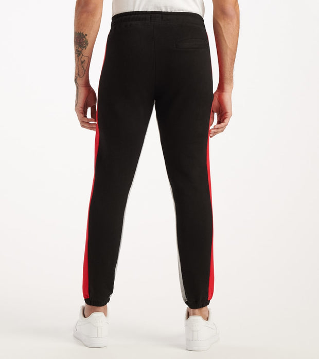 Le Tigre  Striped Jogger  Black - LT558-BLK | Jimmy Jazz