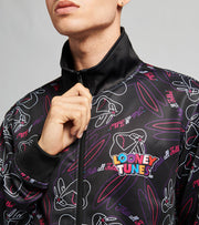 Freeze  Neon Lines All Over Track Jacket  Multi - LT60282-MUL | Jimmy Jazz