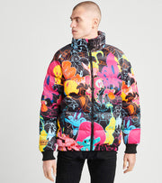 Freeze  Characters Puffer Jacket  Multi - LT60305-BLK | Jimmy Jazz