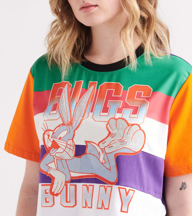 Essentials  Big Bugs Crop Tee  White - LTA0186-WHT | Jimmy Jazz
