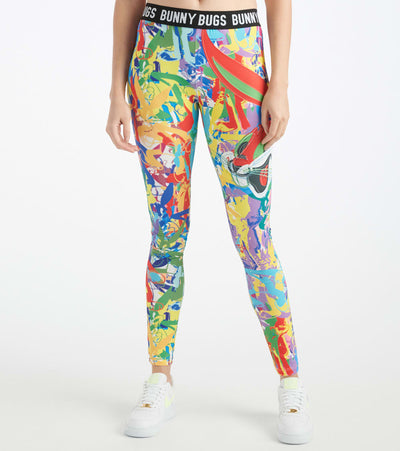 Freeze  Bugs Abstract Leggings  Multi - LTG0229-MUL | Jimmy Jazz