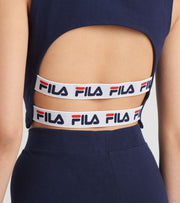 Fila  Inez Crop Tank  Navy - LW016131-410 | Jimmy Jazz