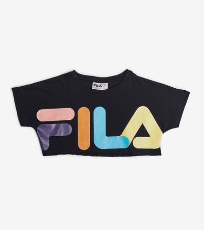 Fila  Maggie Crop Tee  Black - LW016213-001 | Jimmy Jazz