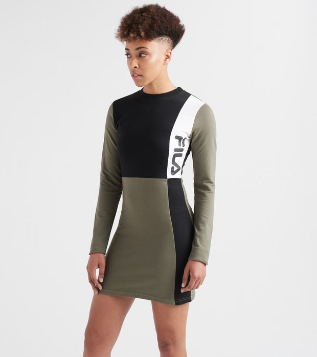 Fila  Ophelia Dress  Green - LW932578-002 | Jimmy Jazz