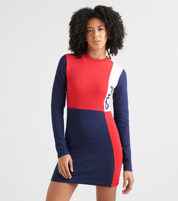 Fila  Ophelia Dress  Red - LW932578-640 | Jimmy Jazz