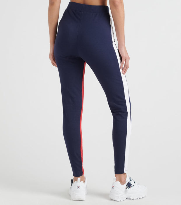 Fila  Tatienne High Rise Legging  Navy - LW933169-411 | Jimmy Jazz