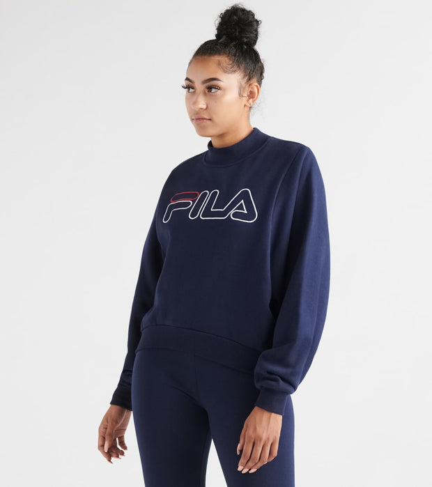 Fila  Hanami Sweatshirt  Navy - LW933194-410 | Jimmy Jazz