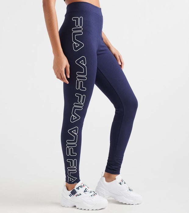 Fila  Romy Legging  Navy - LW933219-410 | Jimmy Jazz