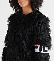 Fila  Fleur Faux Fur Jacket  Black - LW933291-001 | Jimmy Jazz