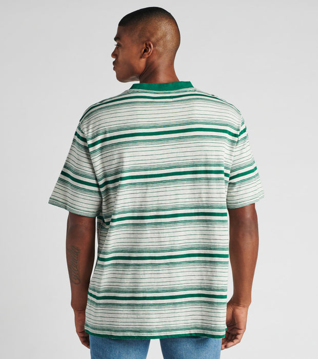 Guess  Short Sleeve Cascade Striped Tee  Green - M0GI0AK6CY1-S852 | Jimmy Jazz