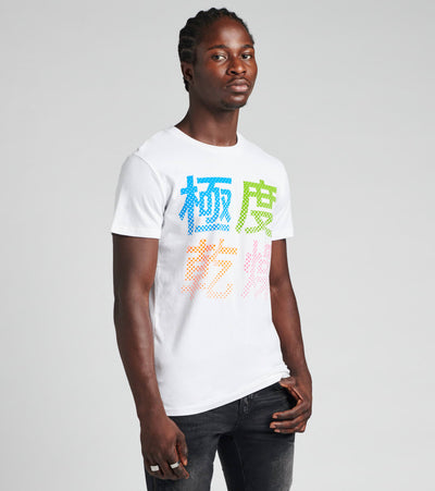 Superdry  Neon Halftone Tee  White - M1010063A-01C | Jimmy Jazz