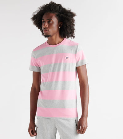 Superdry  Collective Stripe Tee  Pink - M10163SU-T4B | Jimmy Jazz