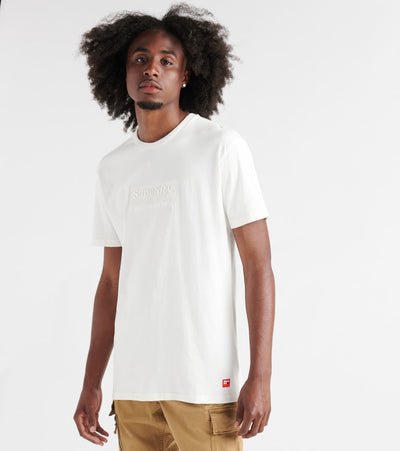 Superdry  International Youth Box Fit Tee  White - M10255AT-71D | Jimmy Jazz