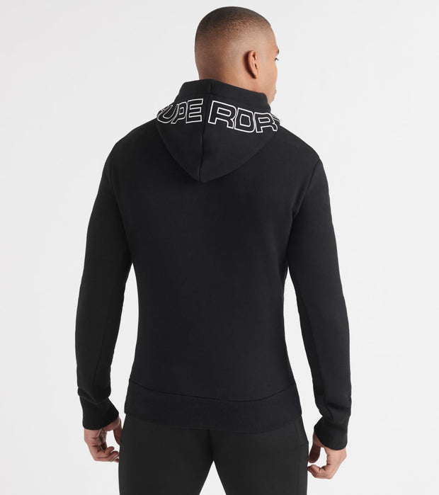 Superdry  Urban Athletic Pullover Hood  Black - M2000064A-02A | Jimmy Jazz