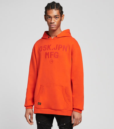 Superdry  Modern Workwear Hoodie  Red - M2010463A-RED | Jimmy Jazz