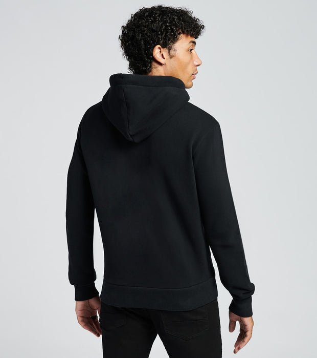 Superdry  Superdry Panel Zip Hoodie  Black - M2010493A-BLK | Jimmy Jazz