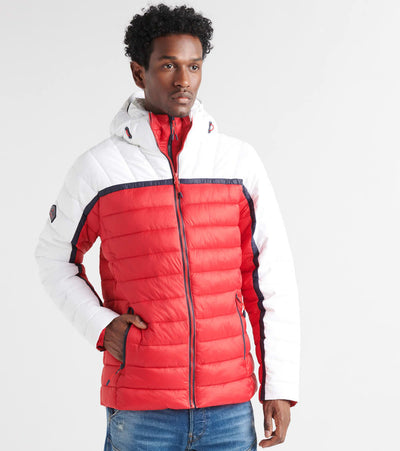 Superdry  Dolman Downhill Racer Fuji Jacket  Red - M5000021A-04C | Jimmy Jazz