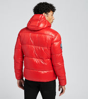 Superdry  High Shine Padded Jacket  Red - M5010189A-RED | Jimmy Jazz