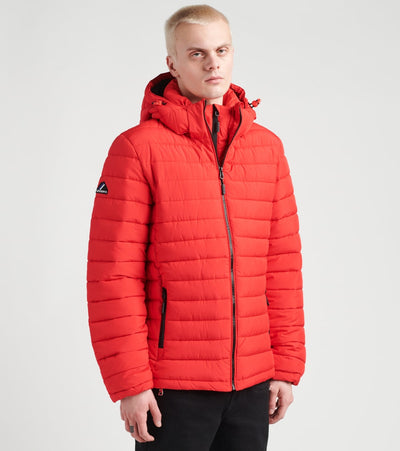 Superdry  Hooded Fuji Jacket  Red - M5010201A-RED | Aractidf