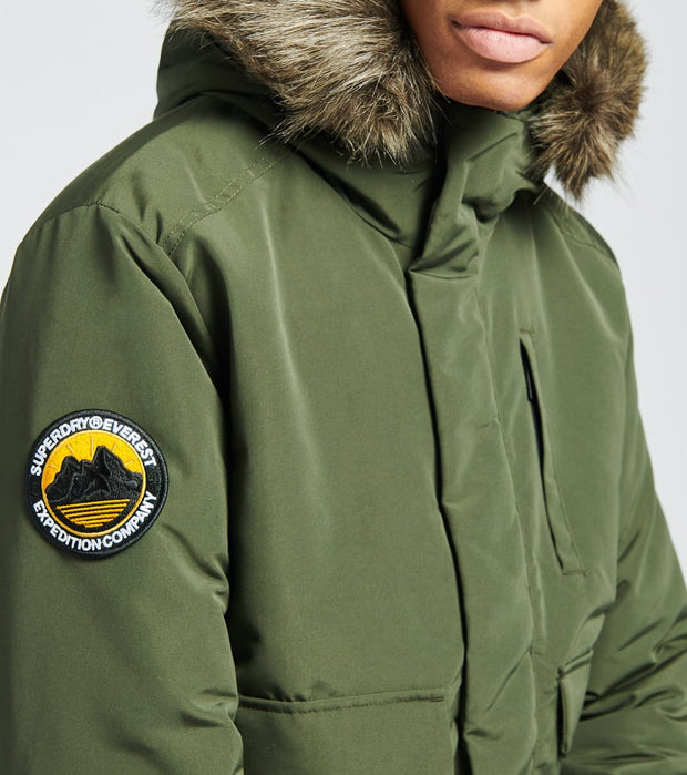 Superdry  Everest Bomber Jacket  Green - M5010203A-KHK | Jimmy Jazz