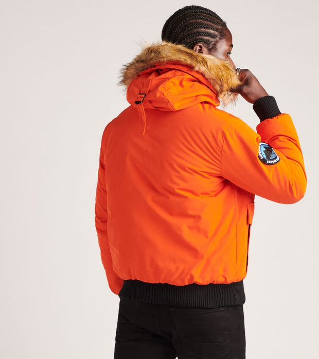 Superdry  Everest Bomber Jacket  Orange - M5010203A-ORG | Jimmy Jazz