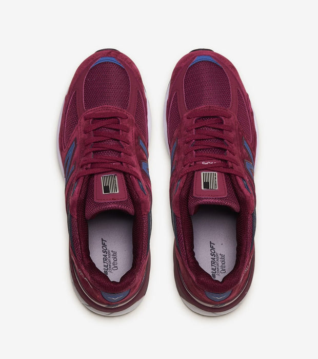 New Balance  990 V5  Burgundy - M990BU5 | Jimmy Jazz